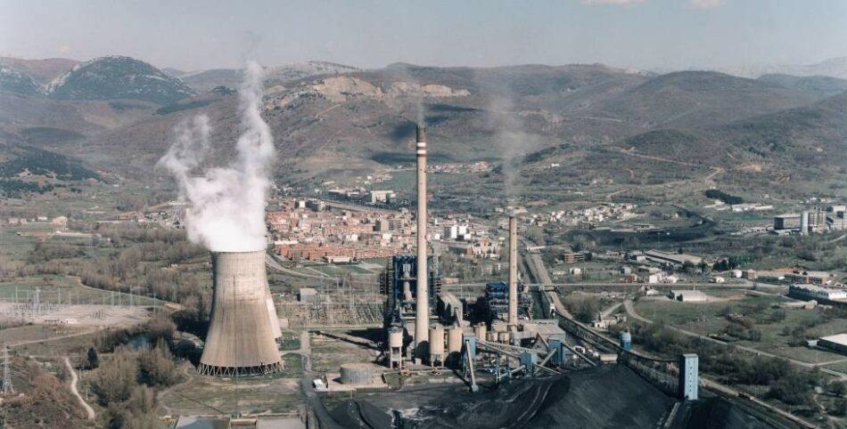 """La plataforma """"Un futuro sin carbón"""" demanda a Endesa un calendario de cierre de sus centrales térmicas de carbón"""