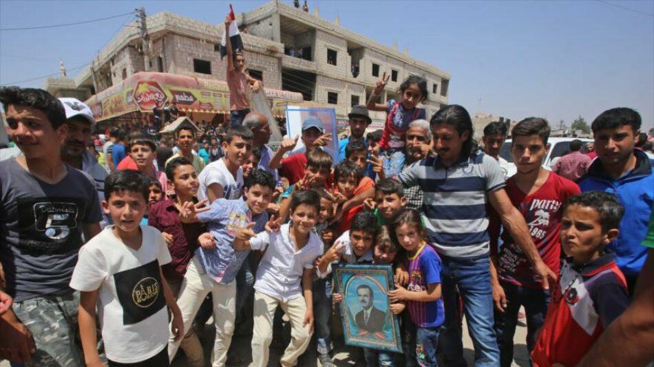 Siria sella un acuerdo de paz con rebeldes en Daraa