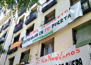 La Asamblea Bloques en Lucha de Lavapiés anuncia la paralización del desahucio en Argumosa 11 gracias a la movilización vecinal