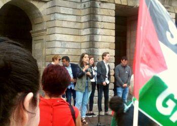 """Eva Solla: """"co cambio do goberno central, é o momento de reclamar o cumprimento das resolucións e sentenzas emitidas en recoñecemento dos dereitos do pobo saharauí"""""""