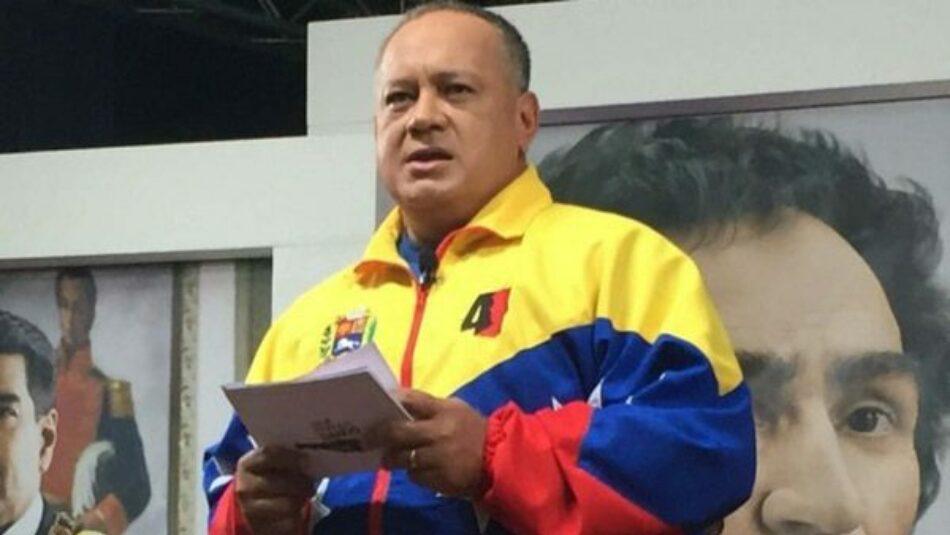 Diosdado Cabello le responde a Pepe Mujica por lo que dijo de Nicaragua