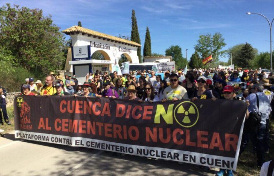 """IU lleva al Congreso una iniciativa para que el Gobierno """"paralice definitivamente"""" y no sólo de forma temporal el almacén de basura radiactiva en Villar de Cañas"""