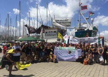Unidos Podemos pide amparo al Gobierno para la Flotilla de la Libertad Rumbo a Gaza