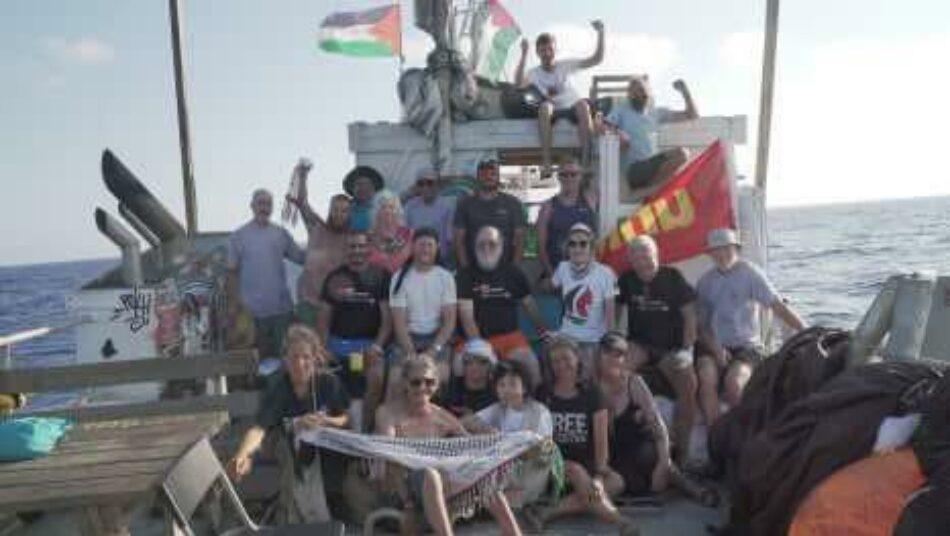 Dos activistas de la «Flotilla de la Libertad» han sido liberados, pero la mayoría de los participantes siguen aún en prisión: Grave preocupación por su seguridad y el cargamento