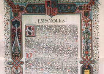 Manifiesto revolucionario de diciembre de 1930. La izquierda española define sus objetivos: «Venimos a meter a la Monarquía en los archivos de la Historia»