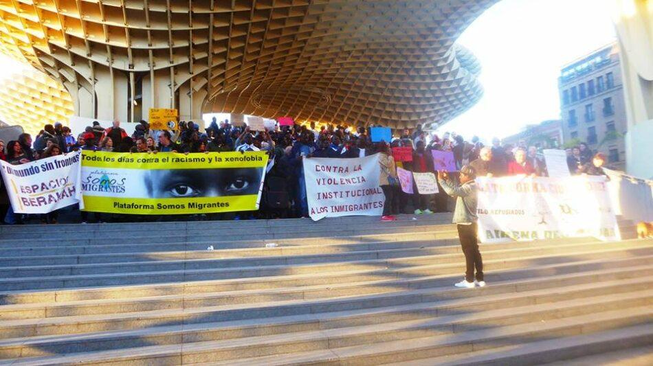 """Sevilla se declara """"Ciudad libre de CIEs"""""""