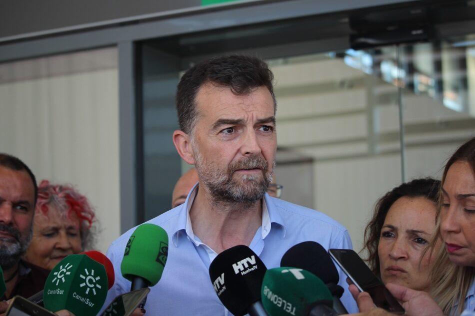 Maíllo critica la «desvergüenza» del PSOE por «sacarse la chistera» un impuesto para las familias humildes de Andalucía