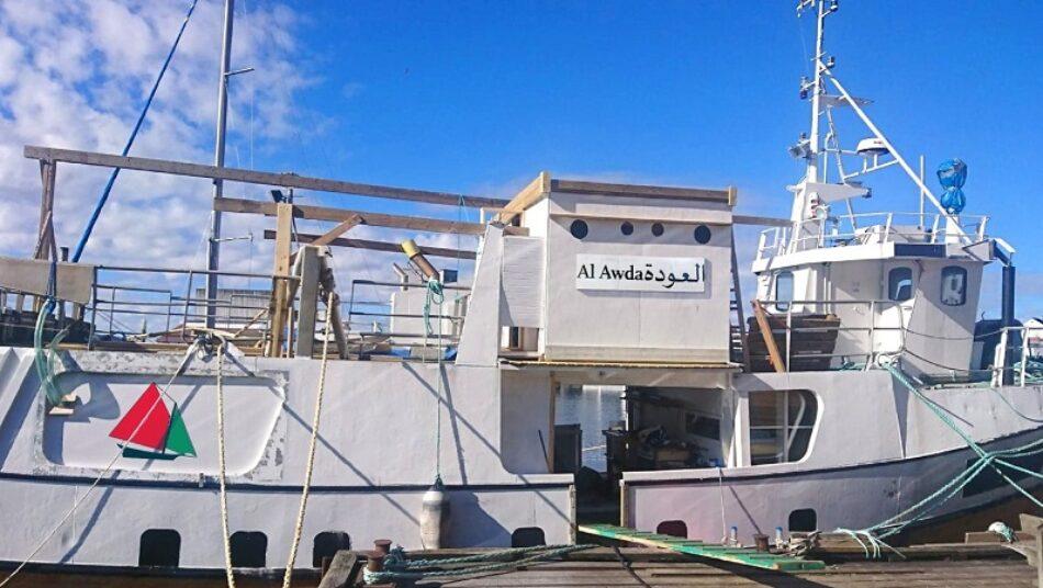 La Flotilla de la Libertad se encuentra frente a la costa de Gaza ante la amenaza de inminente asalto de la Marina Israelí