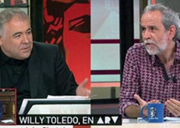 La Sexta y La Razón: el mismo perro contra Willy Toledo y contra Cuba