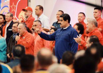 El PSUV ratifica a Nicolás Maduro como presidente del partido