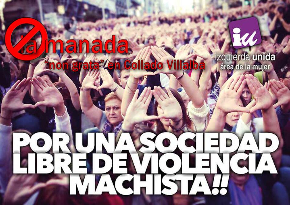 El Pleno de Collado Villalba declarará personas 'non gratas' a los miembros de 'La Manada'
