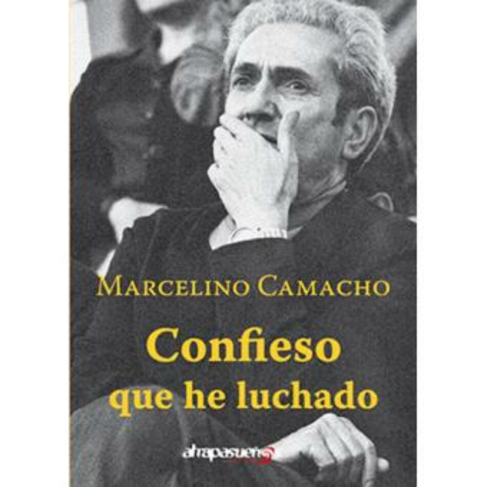 Marcel Camacho presenta las memorias de su padre, Marcelino Camacho, en Conil