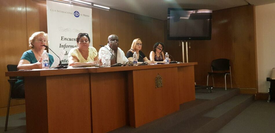 La Plataforma de Solidaridad con Nicaragua y el Frente Sandinista denuncia en Madrid la injerencia extranjera en los acontecimientos en Nicaragua