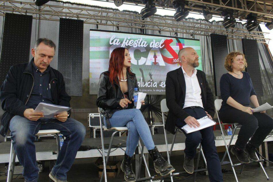 'Vuelve el PCE' se presenta en Sevilla, Málaga y Córdoba