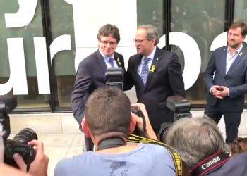 Puigdemont regresa a Bélgica desde Alemania