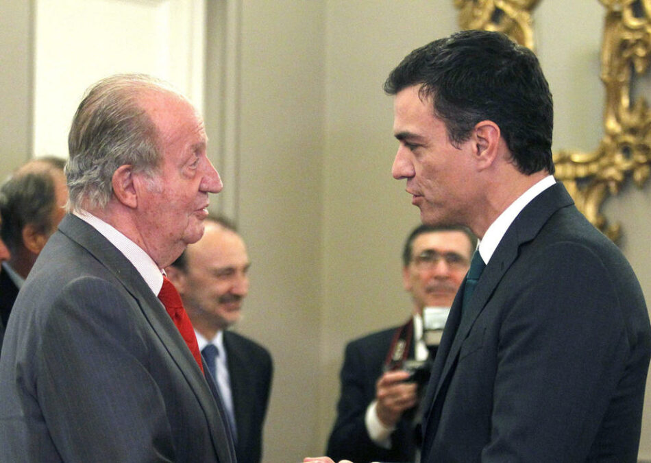Alberto Garzón adelanta más iniciativas de IU para que el Gobierno explique en el Congreso varias claves sobre las graves acusaciones de presunta corrupción que afectan a Juan Carlos de Borbón