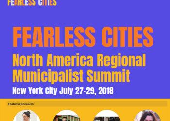 Barcelona En Comú participa en la trobada de les Ciutats sense Por a Nova York per enfortir la xarxa transatlàntica municipalista