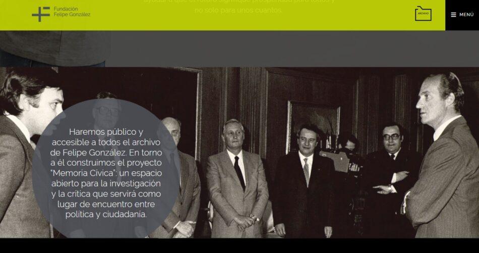 """PSOE y PP impiden en la Mesa del Congreso que la diputada de IU García Sempere pregunte al Gobierno si """"le consta que la Fundación Felipe González tiene documentación clasificada"""""""