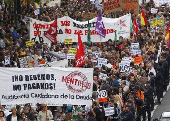 CGT critica que los PGE del PSOE continúan priorizando el pago de la deuda ilegítima con Bruselas sobre las necesidades de las personas