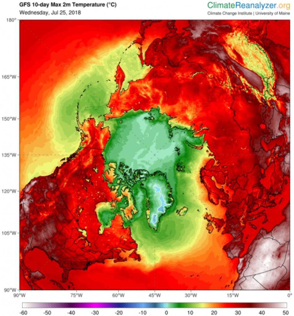 Reactivo: Olas de calor e incendios en todo el mundo