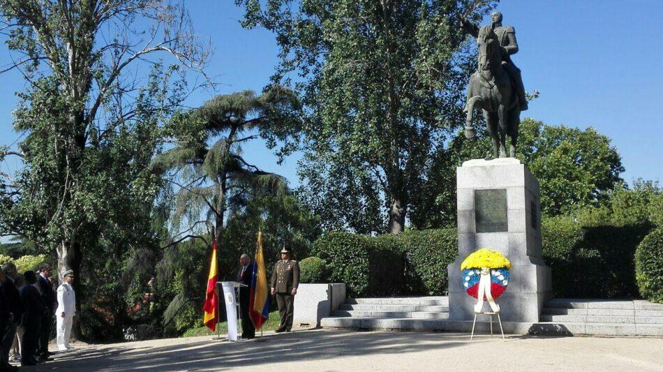 Venezuela celebra en Madrid el 207 aniversario de la firma del acta de Independencia