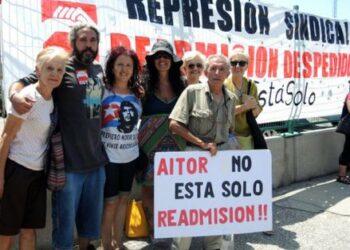 Conciliación por el despido de #AitorNoEstáSolo