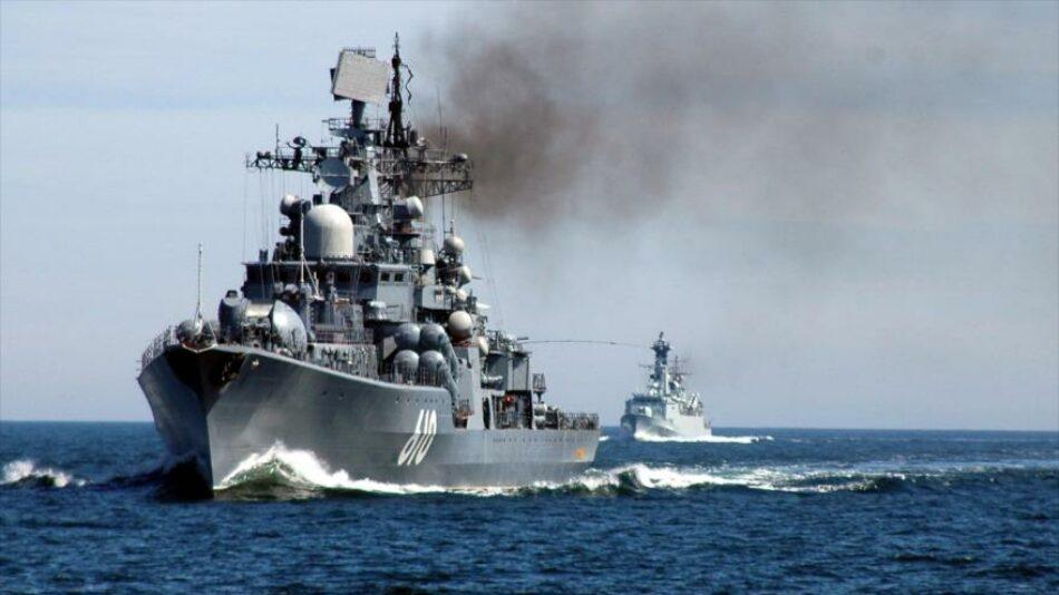 Escalada en Siria: Rusia aumenta a 13 los navíos de guerra desplegados en el Mediterráneo