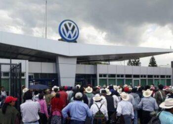 México. Campesin@s de Puebla denuncian a Volkswagen por utilizar cañones antigranizo que causan sequía