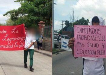 Honduras. Dirigentes estudiantiles que conducen tomas de colegios están amenazados por activistas del Partido Nacional