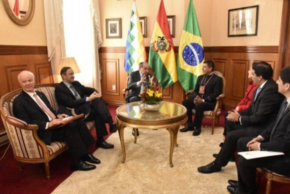 Bolivia. Canciller brasileño afirma importancia de la UNASUR y carácter integrador de la gestión boliviana