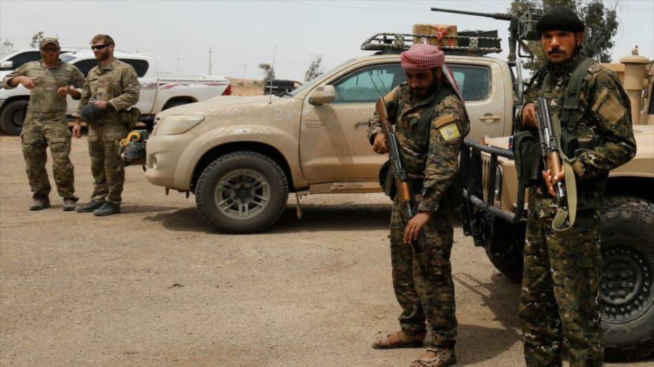 Masivo convoy de FDS y EEUU se dirige al este de Siria
