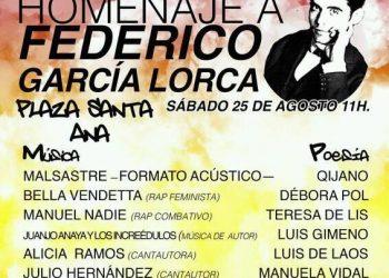 Homenaje a Federico García Lorca en Madrid. 25 de Agosto