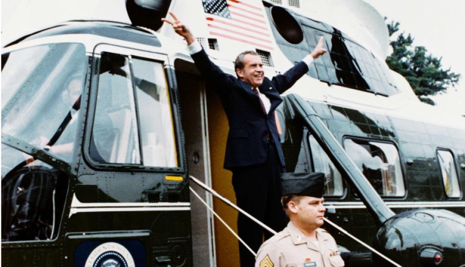 Se cumplen 44 años de la dimisión de Richard Nixon por el caso Watergate