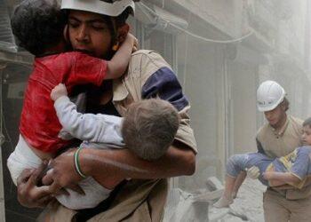 El gobierno sirio denuncia el secuestro de 44 niños para simular un ataque químico
