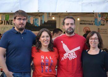 Podemos e IU celebran el inicio del camino hacia la confluencia en las Ferias de Alcalá