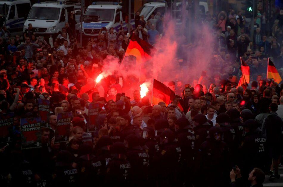 El fascismo toma la ciudad alemana de Chemnitz