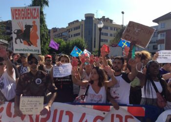 Equo Asturias denuncia actividades municipales en Gijón para promover la tauromaquia entre la infancia