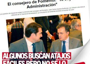 IU denuncia la cacicada del PP imponiendo que el Consejero de la Junta de Castilla y León de explicaciones en una Comisión presidida por un investigado en la trama «enredadera»