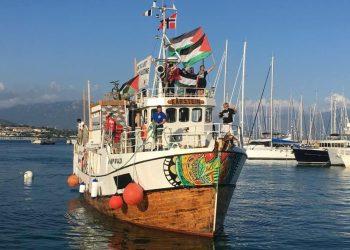 Catalunya en Comú, sobre la Flotilla de la llibertat-Rumb a Gaza 2018