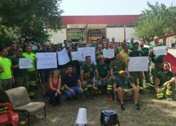 EQUO pide a la Junta de Andalucía que atienda las reivindicaciones de los bomberos forestales