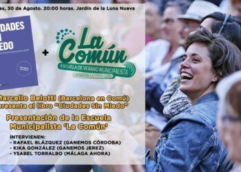 Formaciones municipalistas de Jeréz, Málaga y Córdoba presentan la primera edición de la primera convocatoria del evento Escuela Municipalista La Común