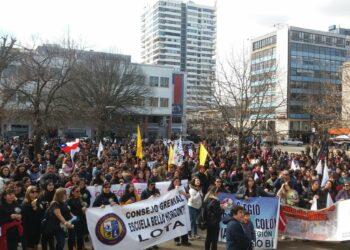 Huelga de 24 horas de profesores en Chile