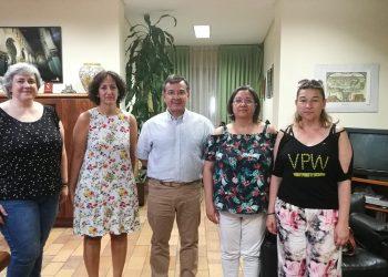 Reunión de la Plataforma 8M Toledo con el subdelegado de gobierno