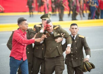 Siete militares heridos en un atentado contra Nicolás Maduro en Caracas
