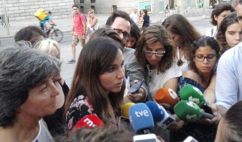 Unidos Podemos y el gobierno abordan la supresión del copago farmacéutico en la primera de sus reuniones bilaterales