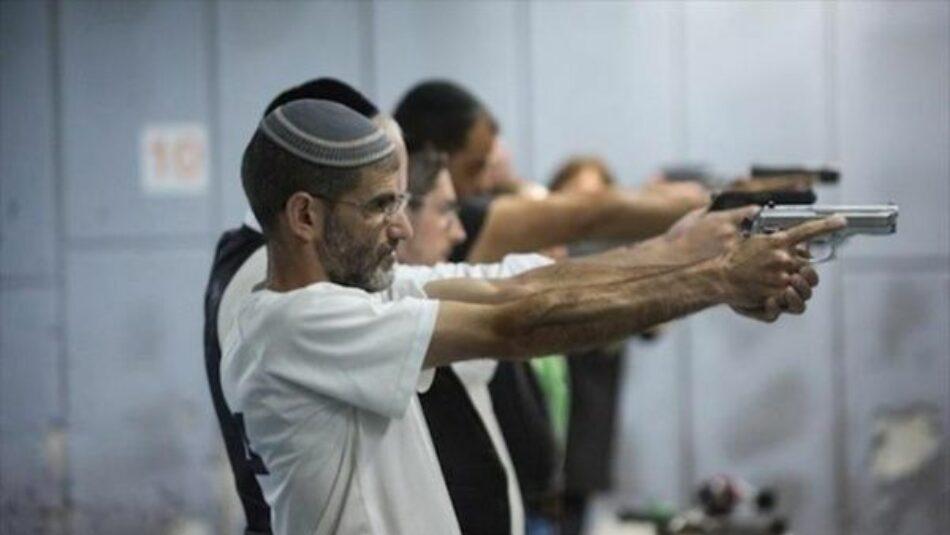 Palestina alerta sobre planes para armar a colonos israelíes