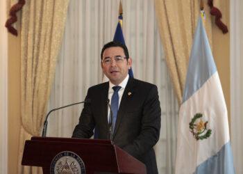 El presidente de Guatemala es acusado de financiamiento ilícito de campaña