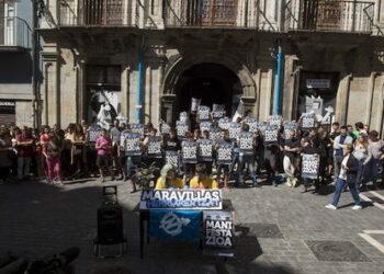 El Gaztetxe Maravillas, libre de riesgo tras retirar el Gobierno navarro la petición de desalojo