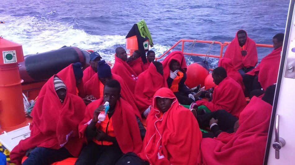CGT denuncia que SASEMAR permite que las embarcaciones de rescate de personas funcionen como autobuses en plena crisis migratoria