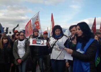 Movilizaciones en Argentina contra la instalación de bases militares estadounidenses